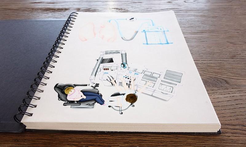 Illustrationen für ATMOS MedizinTechnik