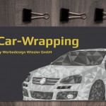 Car-Wrapping Flyer Werbedesign Wiesler