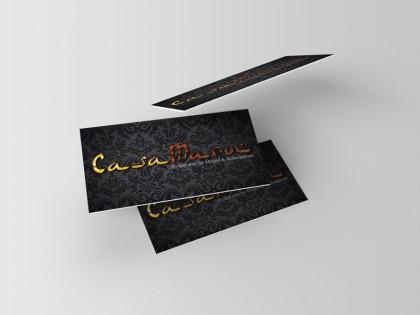 Visitenkarten für Casa Maroc