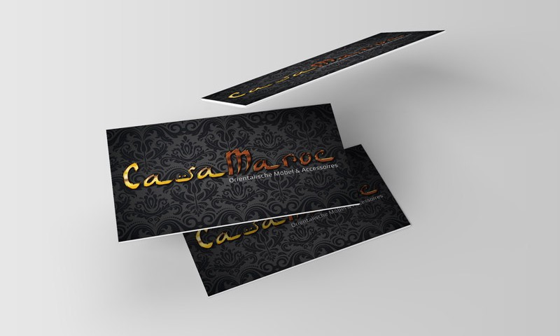 Visitenkarten Casa Maroc